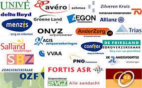 Zorgverzekeringen - logos - verzekerde zorg - kno.amsterdam - 020-6 346 212